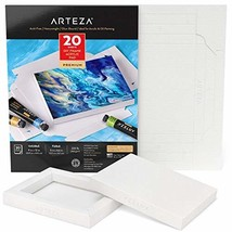 Arteza Acrylic Paper Foldable Canvas Pad, 5x6.6 (5x6.6 Inches|Acrylic Pa... - $16.30