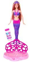 Barbie Bubble-Tastic Mermaid Doll - Great Holiday Gift For Bath Tub Play... - $15.94