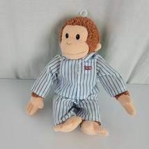 "Applause Curious George Stuffed Plush Doll Toy Dressed in Pjs Pajamas  10"" - $49.49"