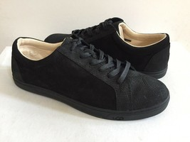 UGG KARINE SNAKE BLACK LACE SLIP ON LEATHER SNEAKERS US 12 / EU 43 / UK ... - $70.13