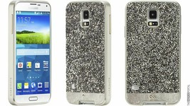 CASEMATE Brilliance Crystal and Leather Case for Samsung Galaxy - $9.81