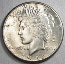 1922-S Peace Silver Dollar VCH AU Coin AF922 - $38.64