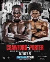 Terence Crawford vs. Shawn Porter Poster Boxing Fight Event Art Print 24... - $10.90+