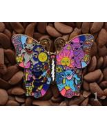 46bb20f7d83 Grateful Dead Hat Pins Butterfly Bears Lighting Bolt Pin 2 1 3 Inch -  9.99