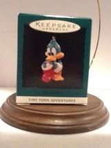 Hallmark Miniature Tiny Toons - Plucky Duck - 1994 - QXM4123 - Mint - $3.95