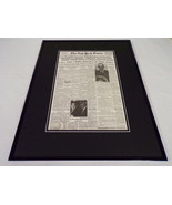 New York Times Aug 5 1964 Framed 16x20 Front Page Poster US Attacks Vietnam - $74.44
