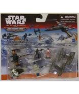 Star Wars Micro Machines Galactic Showdown X-Wing Tie Fighter Poe - $11.00