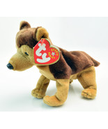 TY BEANIE BABY COURAGE Dog Honors Heroes of 911 Collectible 2001 - $16.97