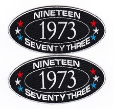 1973 SEW/IRON On Patch Embroidered Badge Emblem Chevrolet Ford Dodge Pontiac - $12.50