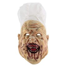 Hophen Creepy Scary Halloween Cosplay Costume Mask for Adults Party Deco... - £18.68 GBP+