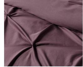 Purple Pinched Pleated Comforter Bedspread Bedding Full/Queen Threshold sealed image 9