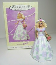 1995 Easter Collection Springtime Barbie Collectors Series Hallmark Ornament #1 - $9.49