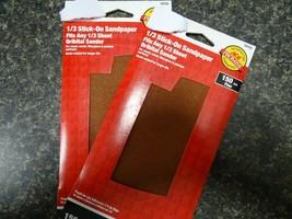 18755 7-1/4 in. L x 3-2/3 in. W 150 Grit Aluminum Oxide Sandpaper 2 pks ... - $8.89