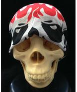 Seamless Bandanna Wrap Skeleton Skull FACE SHIELD MASK Scarf Hat Wind Pr... - $4.87