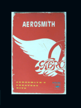 AEROSMITH Greatest Hits Korean Cassette Tape-Slide Open Deluxe Card Boar... - $15.00
