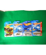 Hot Wheels In Original Package 4 Different Lot8 - $7.18