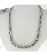 """John Hardy Classic Chain 13mm Graduated Necklace 18"""" Sterling Silver NWT... - $1,624.75"""