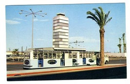 Public Trams at Los Angeles International Airport LAX Postcard - $17.82