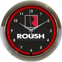 "Roush Performance Wall Mount Light 15"" Neon Clock - $72.99"