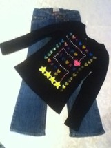Girl-Lot of 2-Outfit-Size 6-6X-Circo sweater-Size 6-Place jeans - $15.75