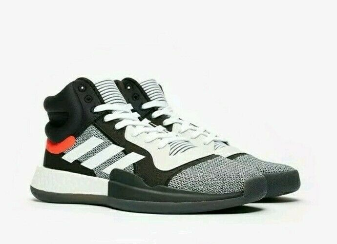 Adidas Marquee Boost Basketball Shoes Black BB7822 Men's Size 9.5