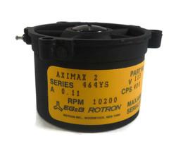 EG&G Rotron AXIMAX 2 464YS 10200RPM 115V 0.11A 1PH 400CPS 26952 - $245.33