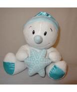 "Snowman Snowflake Star Stuffed Animal Plush 9"" Hobby Lobby White Blue Toy  - $23.94"