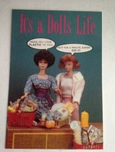 Barbie VTG Postcard Barbie Doll Collector Christmas Gift Doll's Life Z24 - $11.63