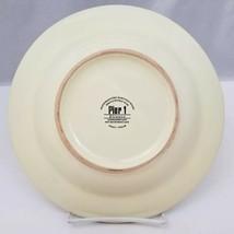 "Pier 1 Etrusco 9.5"" Soup Pasta Bowl Handpainted Dishwasher Safe Made Italy image 2"
