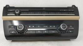 2011-2012 Bmw 535i Radio Control Panel 62993 - $194.52