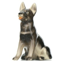 Hagen Renaker Dog German Shepherd Sitting Ceramic Figurine
