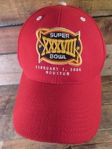 Super Bowl XXXVIII Houston 2004 Reebok Adjustable Adult Cap Hat - $14.84
