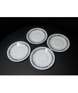 Corelle Old Town (Blue Onion) 4 Saucers - FREE SHIPPING! - $19.99