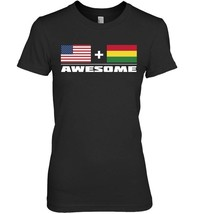 American Bolivian Awesome USA and Bolivia Flags T Shirt - $19.99+