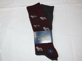 Men's Polo Ralph Lauren 2 pack Pair socks 13-16 dress casual 889732KXLE ... - $22.77