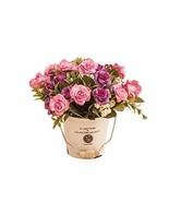 Panda Superstore Nice Simulation Plant Artificial Purple Rose Decorative... - $28.26
