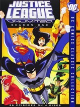 Justice League Unlimited TV Series Complete Season 1 2 DVD Set All Hero ... - $59.39