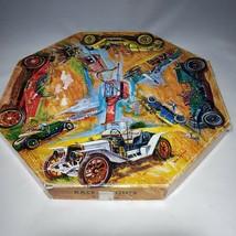 Vtg 1967 Springbok Okta-Puzzle Jigsaw CARS Race-A-Bouts Jigsaw Puzzle Bob Pettes - $24.95