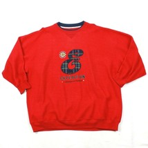 VINTAGE Express Crewneck Expedition Sweater EXP Athletic Adult Large Pla... - $8.92
