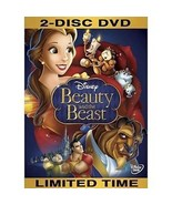 BEAUTY AND THE BEAST - 2 Disc DVD - $8.99