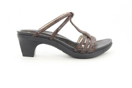 Abeo Snake Style  Sandals  Brown Women's Size US 8 Neutral Footbed (EP) - $74.48