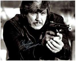CHARLES BRONSON Authentic Original  SIGNED AUTOGRAPHED 8X10 w/ COA 1976 - $60.00