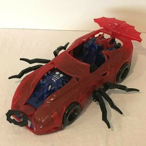 Spiderman Web Car Vintage 1997 Vehicle Red Fits Standard Action Figure - $19.99