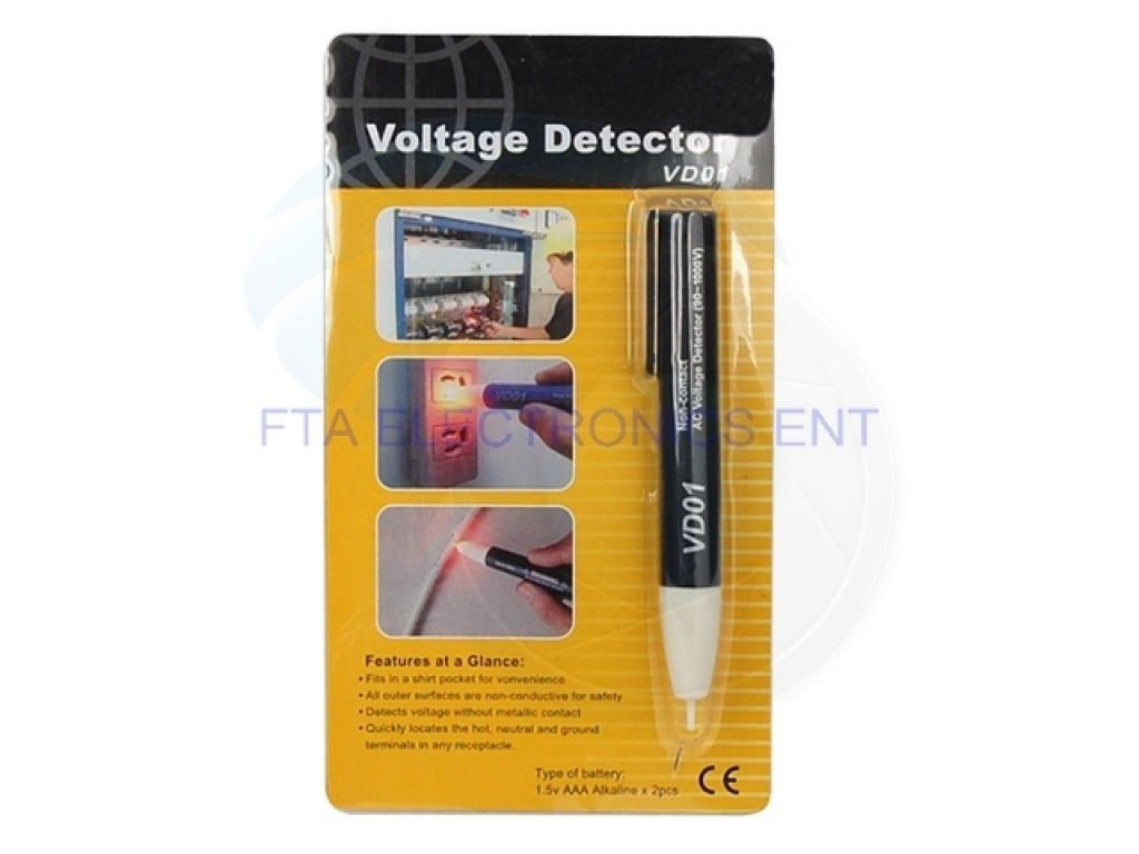 VD01 AC Voltage Detector Non Contact Tester Meter for 90-1000 Volts