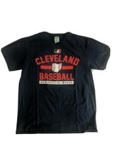 Delta Cleveland Indians Baseball Men's Medium T Shirt Blue Against The W... - $22.07