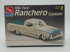 AMT ERTL '61 Ford Ranchero Custom 1961 Model Kit Skill Level 2 New Seale... - $24.63