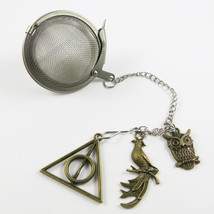 inspired by Harry Potter bronzed  tea infuser - $9.50