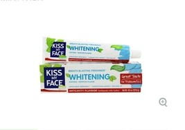 Kiss My Face Whitening Toothpaste 4.5 Vegan Cruelty Free Cool Mint Gel - $25.20