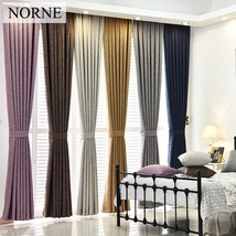 Solid Heavy Blackout Curtain 85% Shading Rate,Thermal Insulated Privacy ... - $27.88
