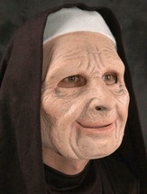 Nun For You Mask Funny Old Woman The Town Halloween Costume Party Funny ... - $78.21 CAD